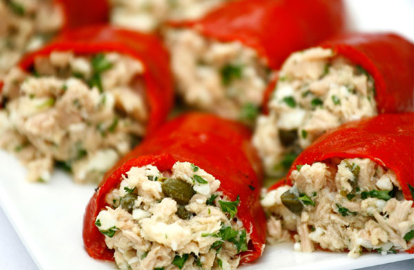 stuffed capsicum with chicken